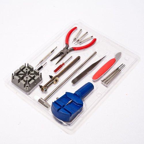 kit de r paration de montre et r glage de bracelet de 286 pcs avec outil pour ouvrir l arri re. Black Bedroom Furniture Sets. Home Design Ideas