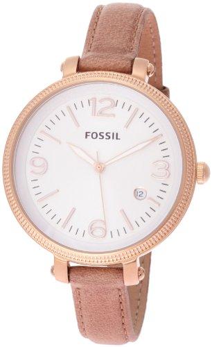 fossil es3133 montre femme quartz analogique bracelet cuir marron montres. Black Bedroom Furniture Sets. Home Design Ideas
