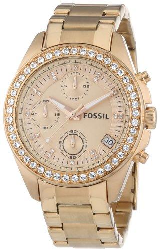 Fossil Es3352 Montre Femme Quartz Chronographe Chronomtre Bracelet