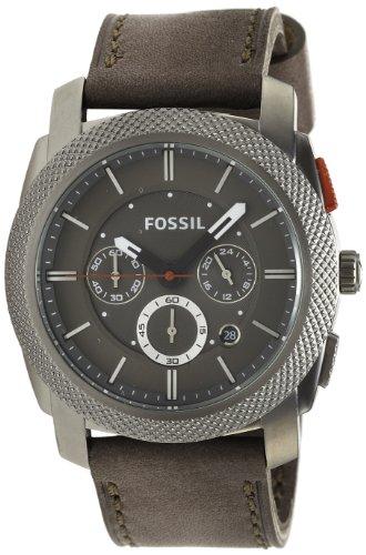 Bracelet cuir montre fossil homme